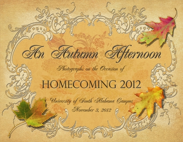 Homecoming 2012 Album - Title Page