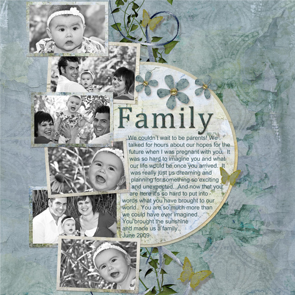 ScrapSimple Embellishment Templates: Photo Clusters 3