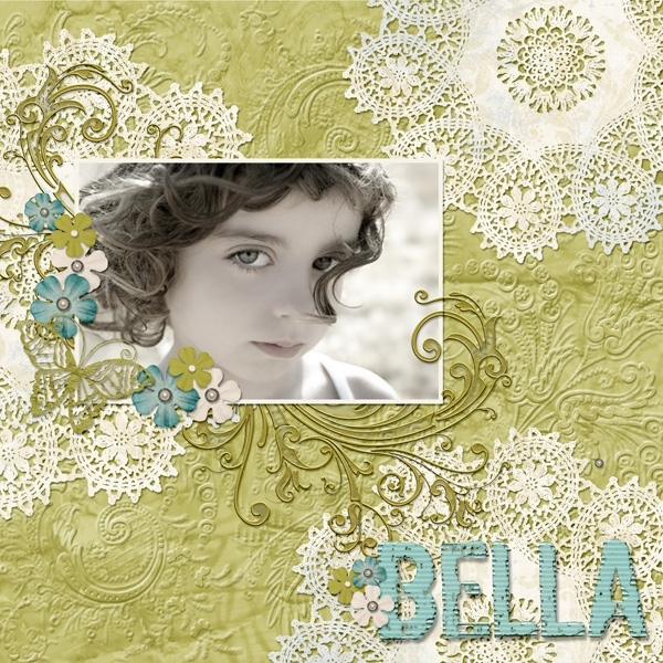 Brush Set: DoilyDays Bella Layout