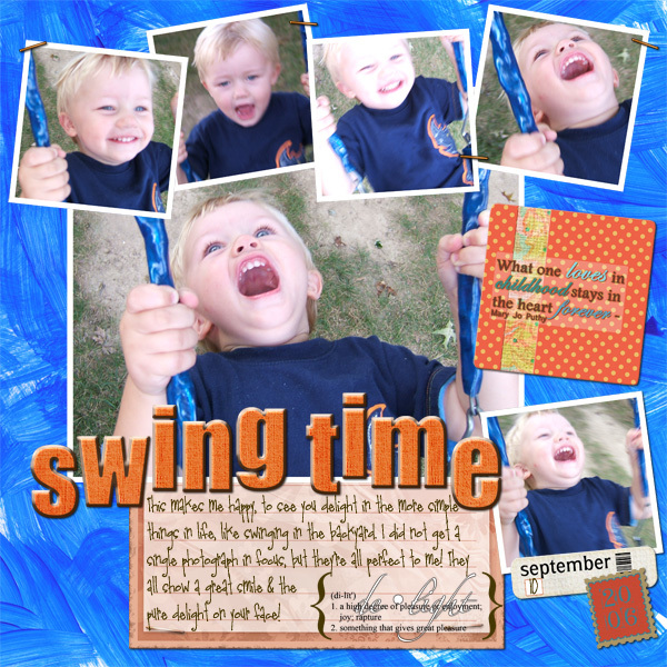 Swing Time!