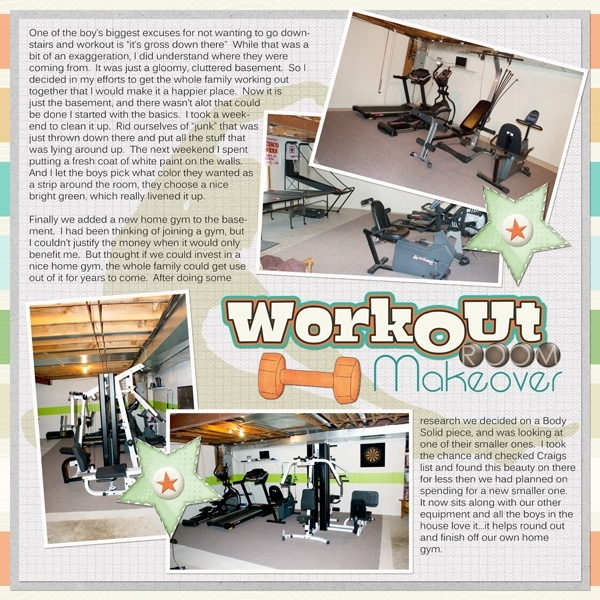 Home Gym Makeover