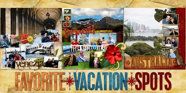 3 Favorite Vacations
