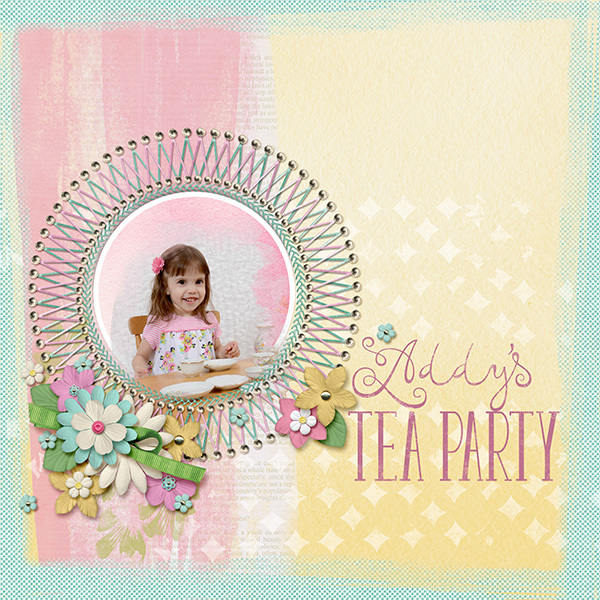 Addy's Tea Party