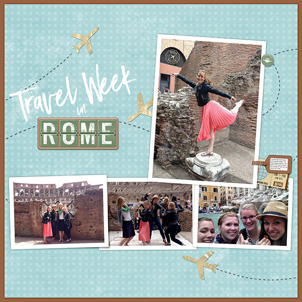 Travel Week in Rome
