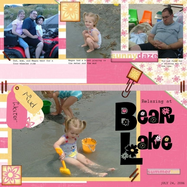 Bear Lake (Megan) page 1