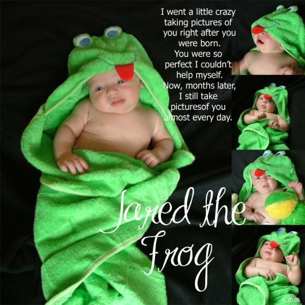 Jared the Frog