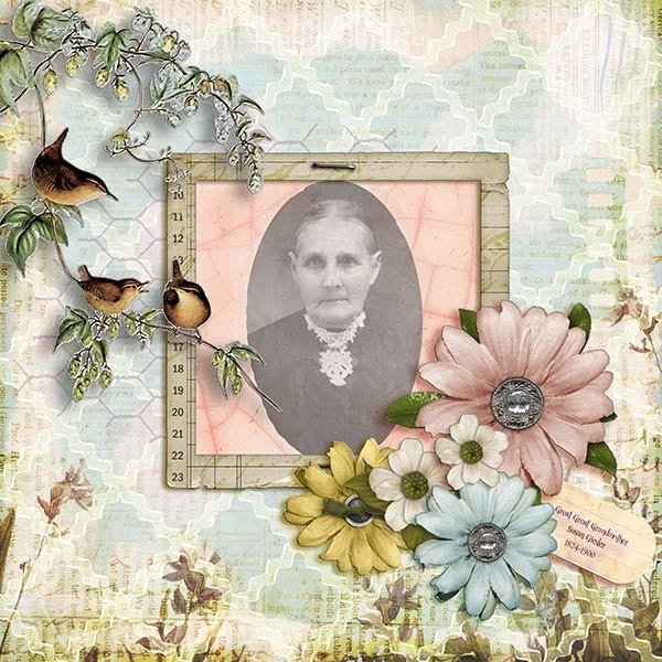 Great Great Grandmother Susan Geisler Glenn