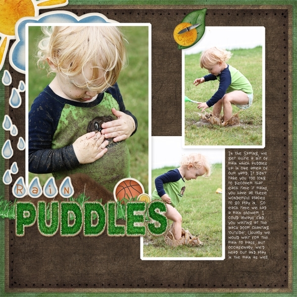 Pentathlon Event - Rain Puddles