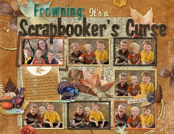 Frowning: It's a Scrapbooker's Curse