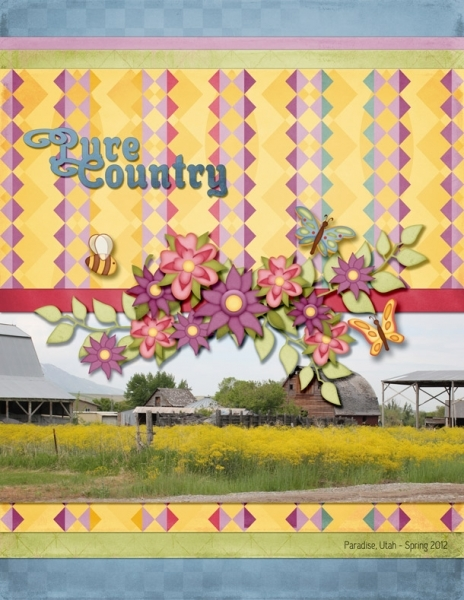 Tuesday Freebie Challenge 5/14 - Pure Country