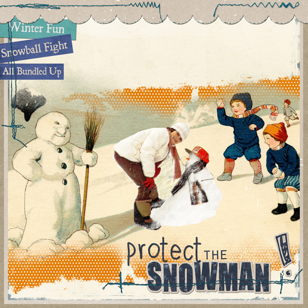 Protect the Snowman!