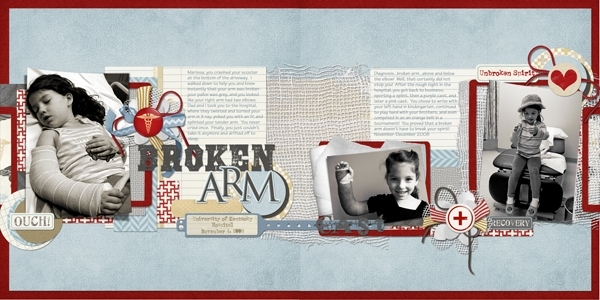 Sat. 8/4:Broken Arm, Unbroken Spirit
