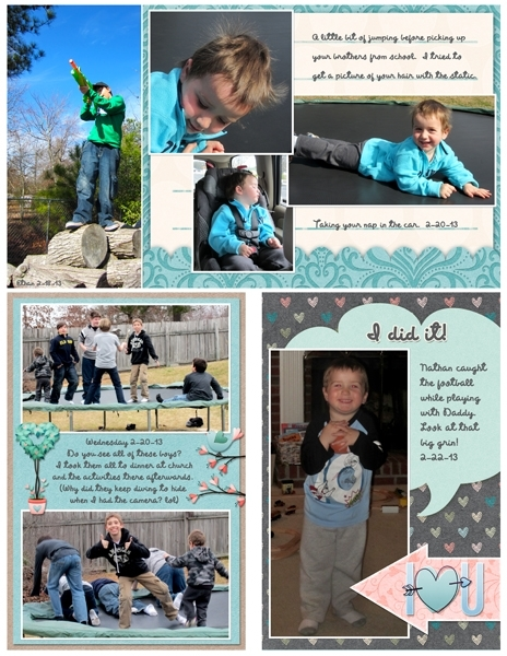 Project Life 2013 Feb page 9
