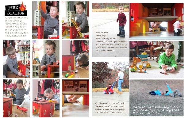 Project Life 2013 Jan page 3 & 4
