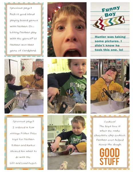 Project Life 2013 Jan page 2