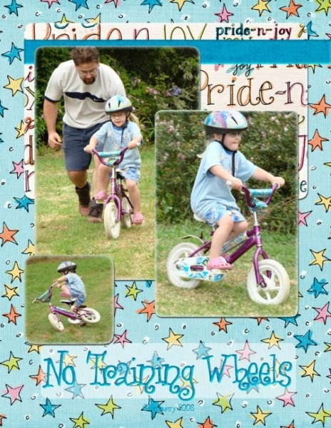 No Training Wheels