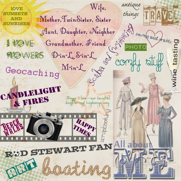 March 2014 Monthly Layout Contest : All About Me