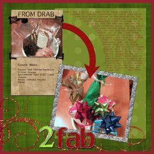 Task #8:  From Drab to FAB!