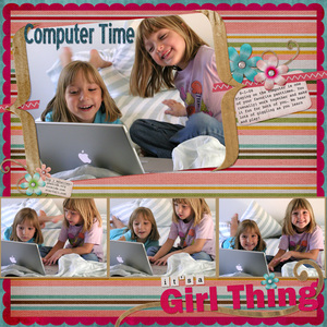 Computer Time...it's a Girl Thing!
