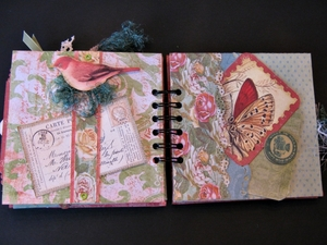 Merrydale Mini Album - select inside pages