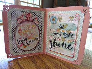 Star Shaped Positive Sayings Card