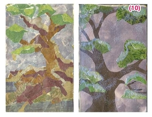 Collage 101 - Paper Painting