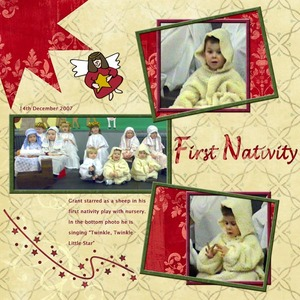 First Nativity Play