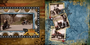 Toby Harley Double Page
