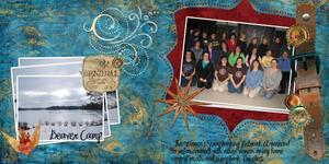 Beaver Camp Double page LO