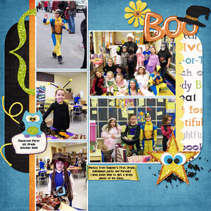 1st Grade Halloween Party!