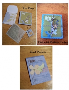 Tea Bags and Seed Packets