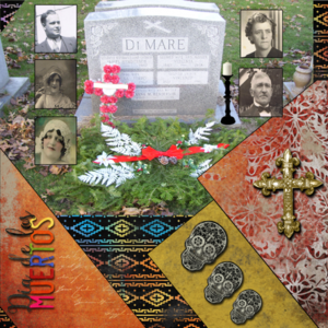 Day Of The Dead -- Thursday 10-15-15 Challenge