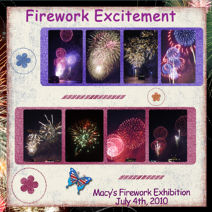 World Tour Excitement -- 4th Of July Fireworks