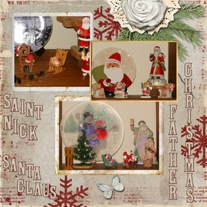 Santa Collection -- 12-13-14 Color Challenge