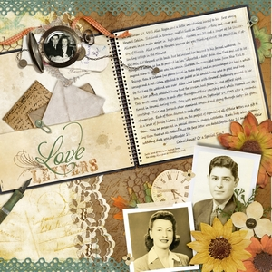 1941 love letters