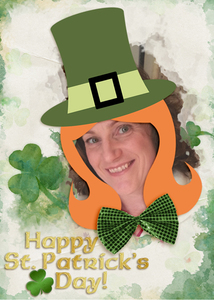 Happy St. Patrick's Day ATC