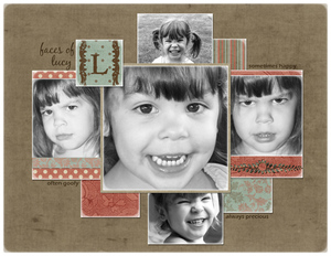 Faces of Lucy