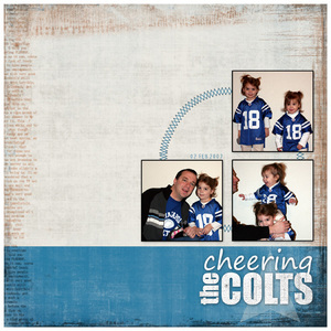 Cheering the Colts