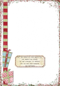 2007 Christmas Card inside