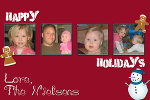 Christmas Card 2008 sample 1