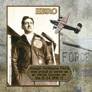 DewaynePerra WW11 on the Liberator B-24