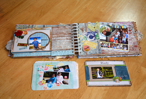 Scrap Album For Jamie