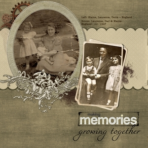 Making Memories - Left Page