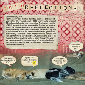 Reflections of 2015 - Thursday Challenge 12/31/15
