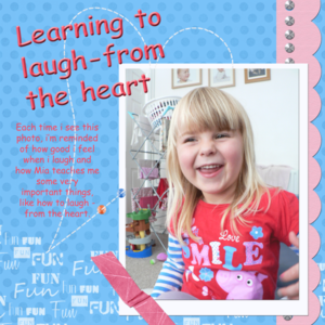 Learning to Laugh - from the heart