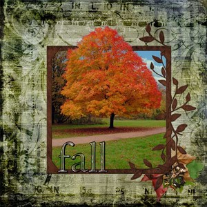 Fall Tree out of bounds