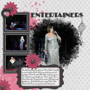 World Tour - Diamonds - Entertainers