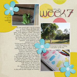 Project Life 2017 Week 7