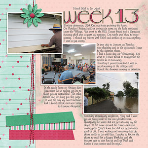 Project Life 2017 - Week 13