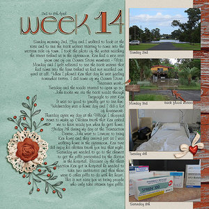 Project Life 2017 Week 14